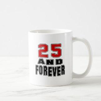 25 birthday designs mug