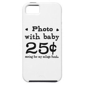 25 Cents Photo With Baby iPhone 5 Covers