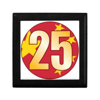25 CHINA Gold Gift Box