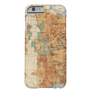 25 Density of increase of population, US, 18901900 Barely There iPhone 6 Case