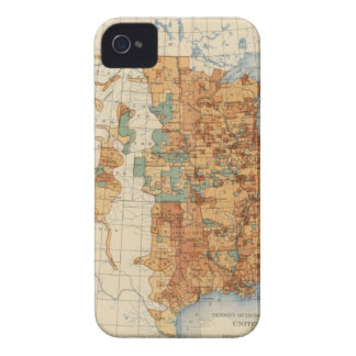 25 Density of increase of population, US, 18901900 iPhone 4 Cover