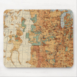 25 Density of increase of population, US, 18901900 Mouse Pad