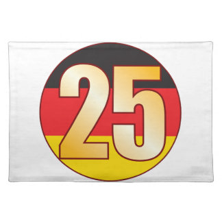 25 GERMANY Gold Placemat