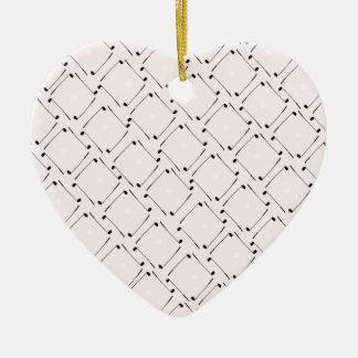 25) Golf Design from Tony Fernandes Ceramic Heart Decoration