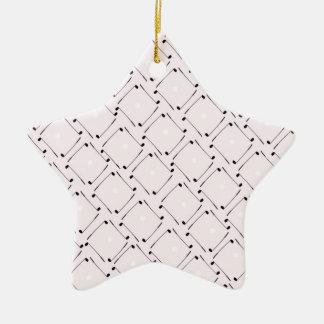 25) Golf Design from Tony Fernandes Ceramic Star Decoration