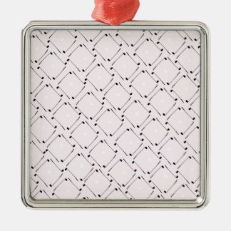 25) Golf Design from Tony Fernandes Silver-Colored Square Decoration