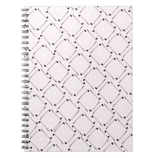 25) Golf Design from Tony Fernandes Spiral Notebook