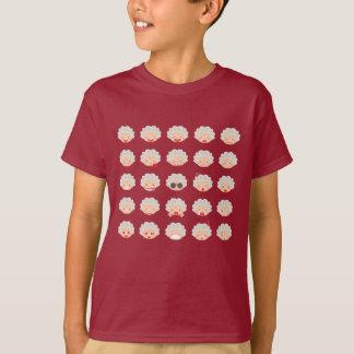 25 Granny Emojis T-Shirt