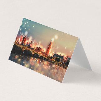 25 greeting maps. London, Tower Bridge, city, Card