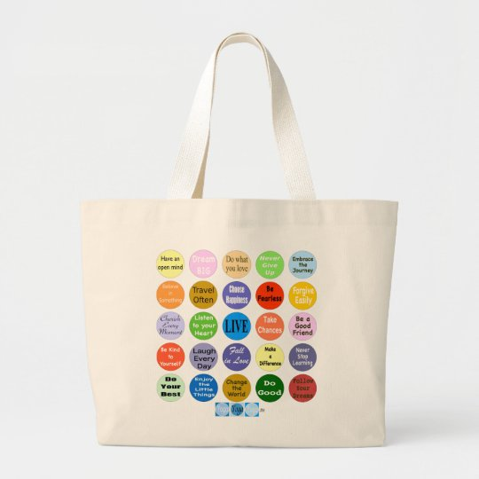 25 Inspirations for Living jiyanbototo Large Tote Bag