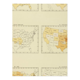 25 Interstate migration 1890 INLA Postcard
