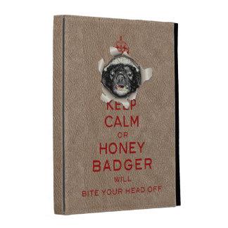 [25] Keep Calm or Honey Badger… iPad Cases