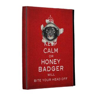 [25] Keep Calm or Honey Badger… iPad Folio Cases