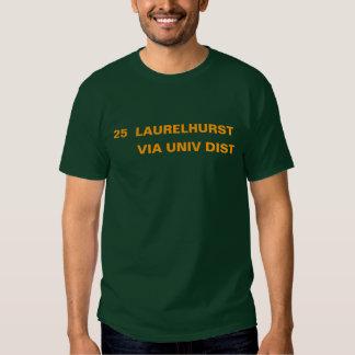 25  LAURELHURST -- VIA UNIV DIST SHIRTS