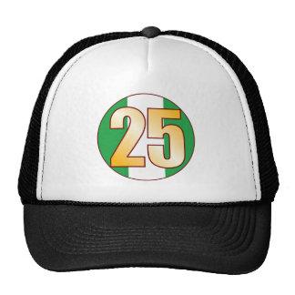 25 NIGERIA Gold Cap