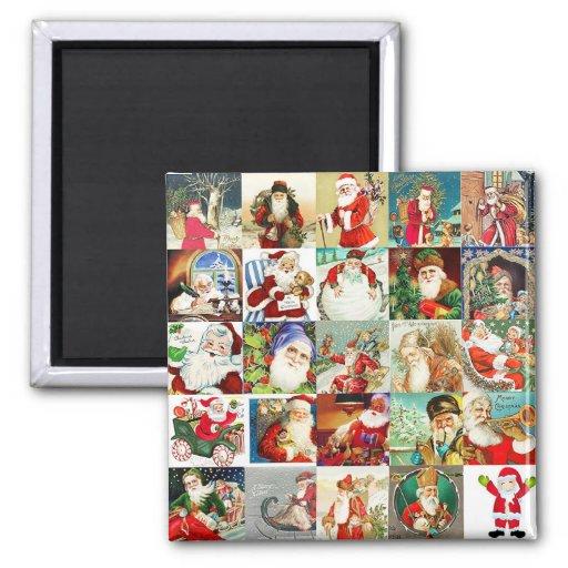 25 Santas Magnet