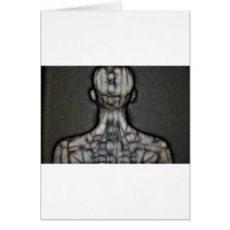 25 - The Silken Skin Greeting Card