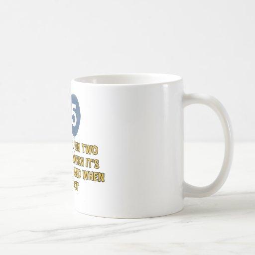 25 year old birthday designs mug