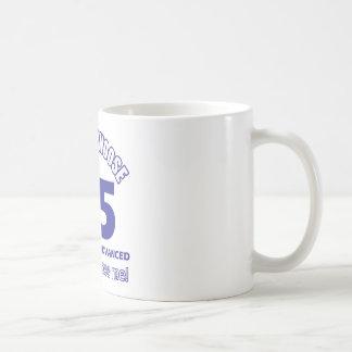 25 years advancement basic white mug