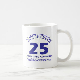 25 years advancement mug