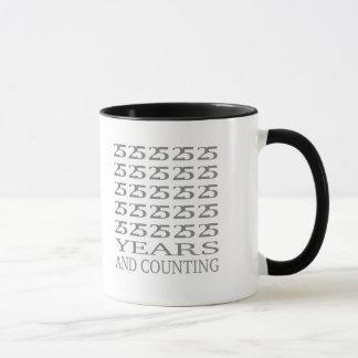 25 Years and Counting Mug