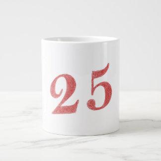 25 years anniversary jumbo mug
