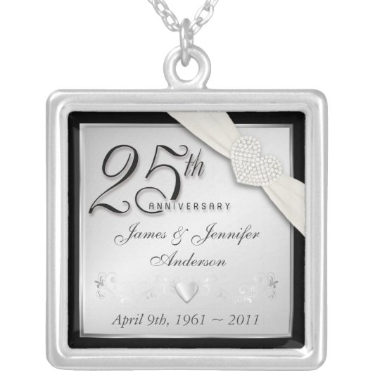 25th Anniversary Commemorative Pendant