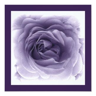 25th Anniversary Invitation - Soft Blue Rose