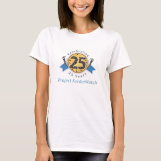 25th Anniversary lady's large graphic T-Shirt