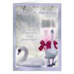 25th Anniversary - Silver Anniversary Greeting Card