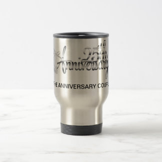 25TH ANNIVERSARY TRAVEL MUG