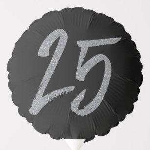 25th Birthday Or Anniversary Balloon
