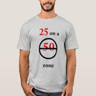 25th Birthday Speed T-Shirt