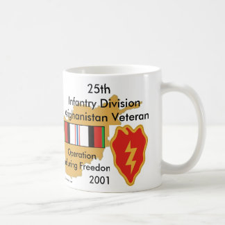 25th Inf Div Afgan Vet Coffee Mug