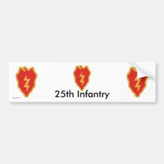 25th Inf Div bs/1 Bumper Sticker