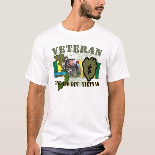 25th Inf Div - Vietnam (w/CIB) T-Shirt