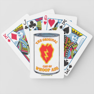 25TH INFANTRY CAN OF WHOOP a** Poker Deck