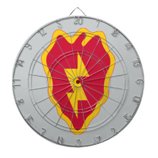 25th Infantry Division Dartboard