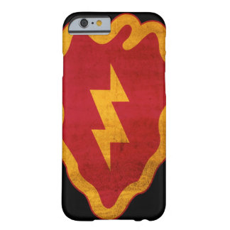 25th Infantry Division Distressed iPhone 6 Barely There iPhone 6 Case