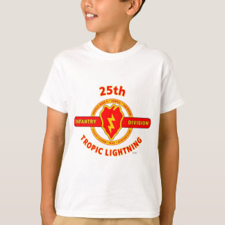 "25TH INFANTRY  DIVISION  ""TROPIC LIGHTNING"" T-Shirt"
