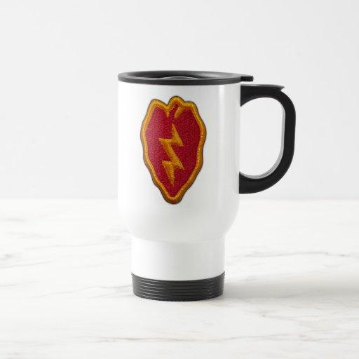 25th infantry division veterans nam patch Mug