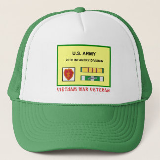 25TH INFANTRY DIVISION VIETNAM WAR VET TRUCKER HAT