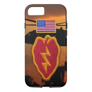 25th infantry Veterans Vets vietnam Patch iPhone 7 Case