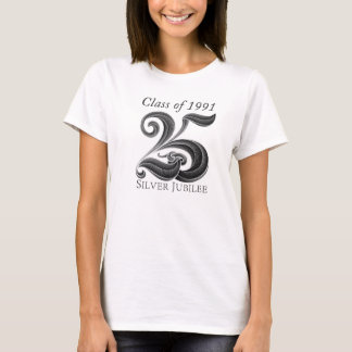 25th Silver Jubilee Class Reunion Shirt for Women