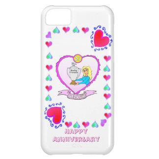 25th silver wedding anniversary, iPhone 5C case
