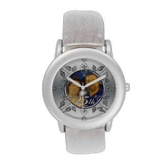 25th Silver Wedding Anniversary Photo Personalised Watch