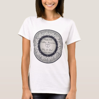 25th Silver Wedding Anniversary T-Shirt