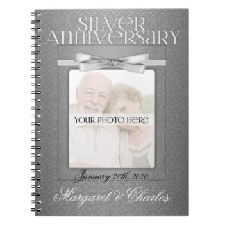 25th Silver Wedding Annivsersary Guest Book