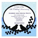 25th Wedding Anniversary Custom Invite