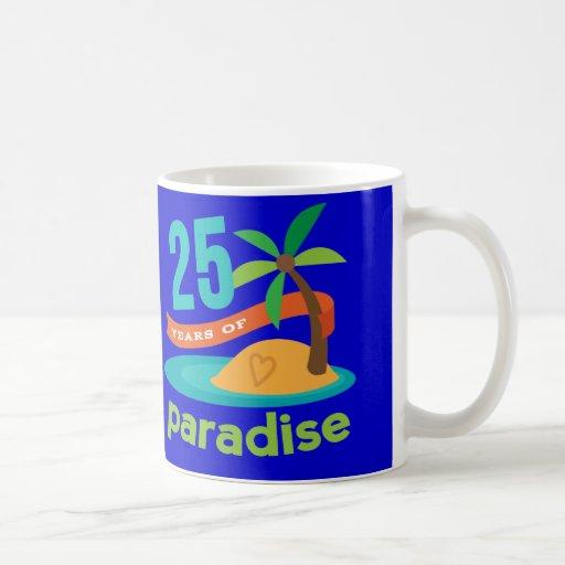 25th Wedding Anniversary Funny Gift For Her Mug
